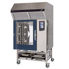 Blodgett-Combi BLCT-102E-H Electric Boiler-Free 20 Full Size Food Pan Combi Oven with Touchscreen Controls and Hoodini Ventless Hood - 208V / 3 Phase