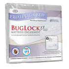 Protect-A-Bed BugLock Plus Zippered Hotel King Size Mattress Encasement - 72 inch x 80 inch x 10 inch
