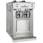 Spaceman 6695-C 2 Bowl Countertop Slushy / Granita Stainless Steel Frozen Drink Machine - 208-230V