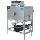 CMA Dishmachines B-2 Double Rack Low Temperature, Chemical Sanitizing Straight Dishwasher - 115V
