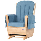 Foundations 4305036 SafeRocker Light Blue Replacement Cushion Set for Glider Rockers