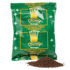 Crown Beverages Emperor's Blend Decaf Coffee - (80) 2 oz. Packets / Case - 80/Case