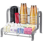 Cal-Mil 1594-74 Silver Soho Condiment Organizer - 15 3/4