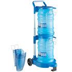 San Jamar Saf-T-Ice 6 Gallon Polypropylene Ice Tote Kit with Cart