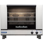 Moffat E28M4-P Turbofan Single Deck Full Size Electric Convection Oven with Mechanical Controls - 208V, 1 Phase, 5 kW