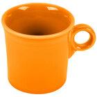 Homer Laughlin 453325 Fiesta Tangerine 10.25 oz. Mug - 12 / Case