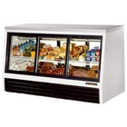 True TSID-72-6-L Low Height Six Door Refrigerated Deli Case - 25 Cu. Ft.