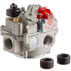 Millivolt Natural Gas Pilot Combination Valve for Fryers; 3/4 inch Gas In / Out