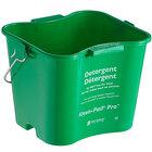 San Jamar KPP97GN 3 Qt. Green Cleaning Kleen-Pail Pro