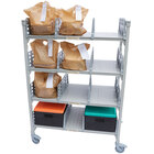 Cambro CPM244867FX3480 Camshelving Premium® Series Flex Station with 4 Shelves - 48 inch x 24 inch x 67 inch