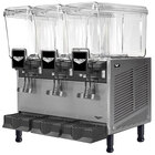 Vollrath VBBD3-37-F Triple 3.17 Gallon Bowl Refrigerated Beverage Dispenser with Fountain Spray Circulation - 115V