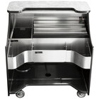 Perlick MOBS-42TE Signature 42 inch Stainless Steel Mobile Bar with Ice Chest - 120V