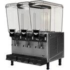 Vollrath VBBE3-37-F Triple 5.28 Gallon Bowl Refrigerated Beverage Dispenser with Fountain Spray Circulation - 115V