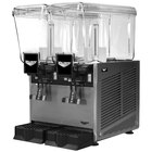 Vollrath VBBD2-37-S Double 3.17 Gallon Bowl Refrigerated Beverage Dispenser with Stirring Paddle Circulation - 115V