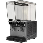 Vollrath VBBE2-37-F Double 5.28 Gallon Bowl Refrigerated Beverage Dispenser with Fountain Spray Circulation - 115V