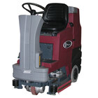 """Minuteman E Ride 26 Series 26"""" Rider Battery Operated Disc Brush Floor Scrubber with SPORT Technology"""