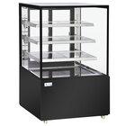 Avantco BCD-36-SB 36 inch Black Square Dry Bakery Display Case