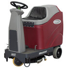 """Minuteman Max Ride 20 Series 20"""" Rider AGM Battery Operated Disc Brush Floor Scrubber"""