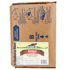 Fox's Bag In Box Grape Beverage / Soda Syrup - 5 Gallon