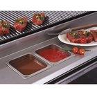Bakers Pride 21841056 Ultimate Outdoor Charbroiler Stainless Steel Rear Work Deck