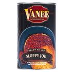 Vanee 156GZ Beef Sloppy Joe 52 oz. Can
