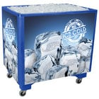 Blue Ice Saver 060 Mobile 100 Qt. Frost Box with Casters