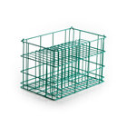 14 Compartment Catering Plate Rack for Square Bread & Butter Plates up to 6 inch - Wash, Store, Transport
