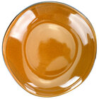 International Tableware LU-120-TA Luna 48 oz. Terracotta Deep Coupe Porcelain Pasta Plate - 12/Case