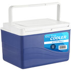 Choice Blue 11 Qt. Cooler with Bail Handle