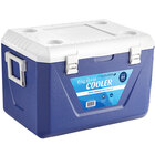 Choice Blue 63 Qt. Cooler with Side Swing Handles