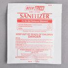 Diversey 90223 Beer Clean Sanitizer 0.25 oz. Packet - 100/Case