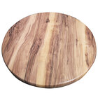American Tables & Seating ATO48-213 48 inch Round Indian Rosewood Isotop Outdoor Tabletop