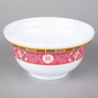 Thunder Group 3201TR Longevity 20 oz. Round Melamine Noodle Bowl - 12/Case
