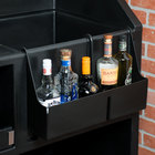 Cambro BAR54SR110 Black 5-Bottle Speed Rail