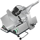 Bizerba GSP H I W-90 13 inch Manual Gravity Feed Meat Slicer with 6.6 lb. Digital Portion Scale - 1/2 HP