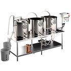 Spike Brewing Spike Trio 30 Gallon System with NPT Fittings, Single Batch Control Panel, and Wort Chiller