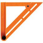 Swanson TOSB01 7 inch Orange Speed Bevel Folding Speed Square