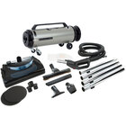 MetroVac ADM4PNHSNBFVC Professional Evolution Variable Speed Canister Vacuum with Deluxe Electric Power Nozzle - 1560W