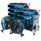 XPOWER XDP3 XTREMEDRY Pro DIY Restoration Clean Up Kit with Axial Fan - Double Kit