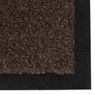 Teknor Apex NoTrax 130 Sabre 3' x 60' Dark Toast Roll Carpet Entrance Floor Mat - 3/8 inch Thick