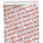 Carnival King 6 inch x 1 inch x 6 1/2 inch Large Hamburger Bag - 250/Pack