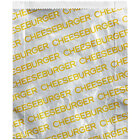 Carnival King 6 inch x 1 inch x 6 1/2 inch Large Cheeseburger Bag - 250/Case