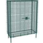 Metro SEC55K3 Metroseal 3 Stationary Wire Security Cabinet 50 1/2 inch x 27 1/4 inch x 66 13/16 inch