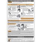 Globe GCHART Slicer Wall Chart for Globe G-Series Slicers