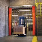 Curtron QSD-12-67-UM-84X120 84 inchW x 120 inchH PVC Strip Door - Standard Grade