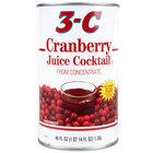 46 oz. Canned Cranberry Juice Cocktail - 12/Case