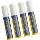 American Metalcraft SMA720V4W Securit All-Purpose Big Tip White Chalk Marker Set - 4/Pack