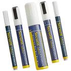American Metalcraft BLSMAMIXV5WT Securit All-Purpose Multi Tip White Chalk Marker Set - 5/Pack