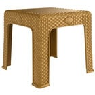 Lancaster Table & Seating 19 5/16 inch Square Sand Side Table