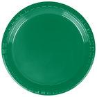 Dart Solo PS75G-0099 7 inch Green Plastic Plate - 500/Case